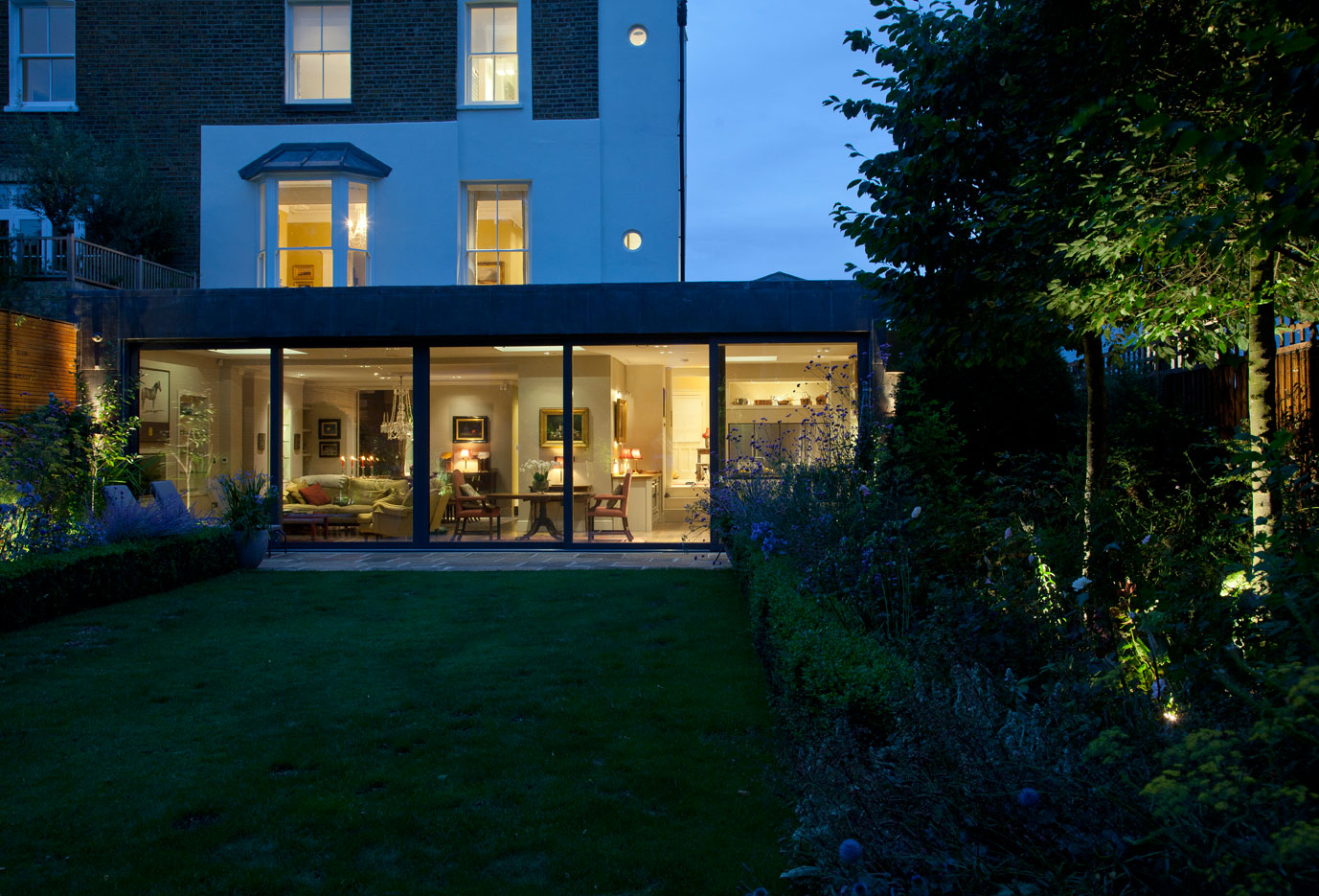 Paddy Boyce Designs Projects Wimbledon Villa Garden