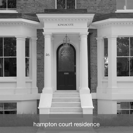 hampton court residence project